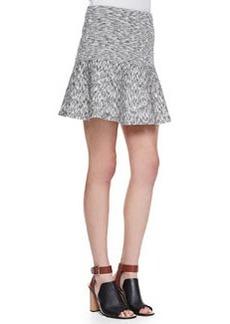 Gida Drop-Waist Space-Dye Skirt   Gida Drop-Waist Space-Dye Skirt