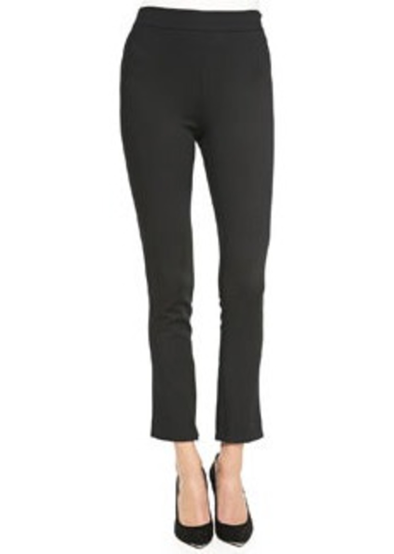 Typically defined as longer than 10 inches, high rise pants are a good option for men who stand over 6' tall and who want to wear their pants at their waist, rather than at their hips (which is a good decision, especially for formal wear).