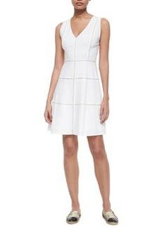 Theory Jemion Crunch Sleeveless Dress