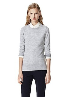 Kralla Sweater in Evian Stretch Wool Blend