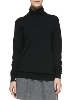 Kristoff Knit Turtleneck Sweater, Black   Kristoff Knit Turtleneck Sweater, Black