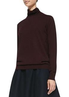 Kristoff Knit Turtleneck Sweater, Merlot   Kristoff Knit Turtleneck Sweater, Merlot