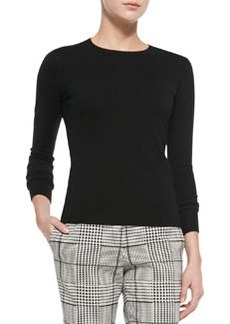 Perfect Staple Cashmere Crewneck Sweater   Perfect Staple Cashmere Crewneck Sweater