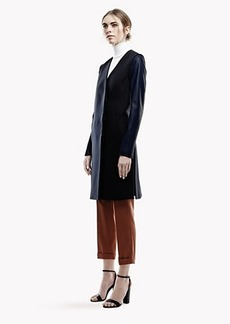 Quennel Coat in Compact Wool