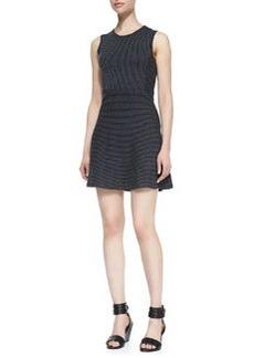 Randria Evian Pinstripe Dress   Randria Evian Pinstripe Dress