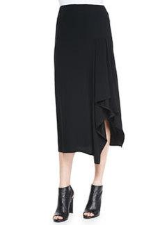 Sozal Side-Ruffle Skirt   Sozal Side-Ruffle Skirt
