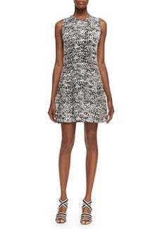 Theory Alancy C Tweedscape Sleeveless Dress