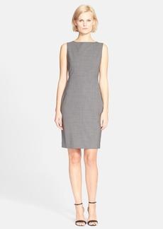 Theory 'Betty.2B' Stretch Wool Sheath Dress