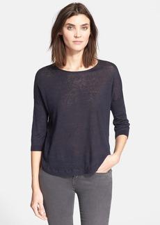 Theory 'Beylor' Linen Blend Sweater