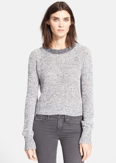 Theory 'Brombly' Linen Blend Sweater