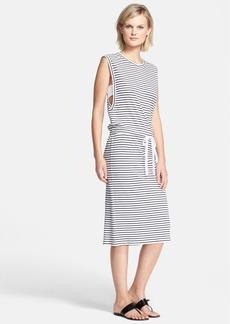Theory 'Caneil' Stripe Pima Cotton Sweater Dress