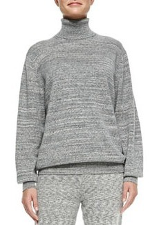 Theory Cashmere Pristelle Space-Dye Sweater