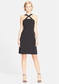 Theory 'Celia' Crepe A-Line Dress
