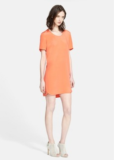 Theory 'Gradin' Silk Shift Dress