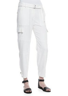 Theory Hannon Tapered Cargo Pants