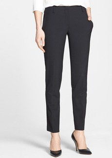 Theory 'Ines' Crop Stretch Wool Trousers