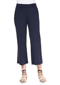 Theory Inza Wide-Leg Cropped Pants