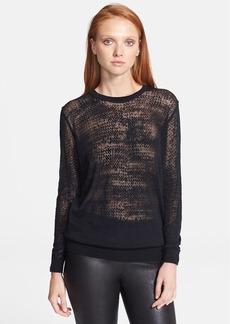 Theory 'Jaidyn P.' Sheer Sweater
