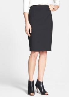 Theory 'Joanie' Stretch Wool Pencil Skirt