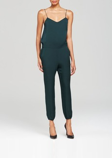 Theory Jumpsuit - Stassia Double Georgette Silk