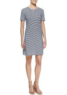 Theory Kalix Horizontal-Stripe Jersey Dress