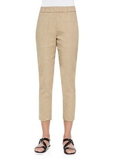 Theory Korene Pull-On Tapered Pants