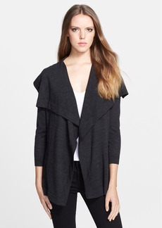 Theory 'Maritza' Merino Wool Waterfall Cardigan