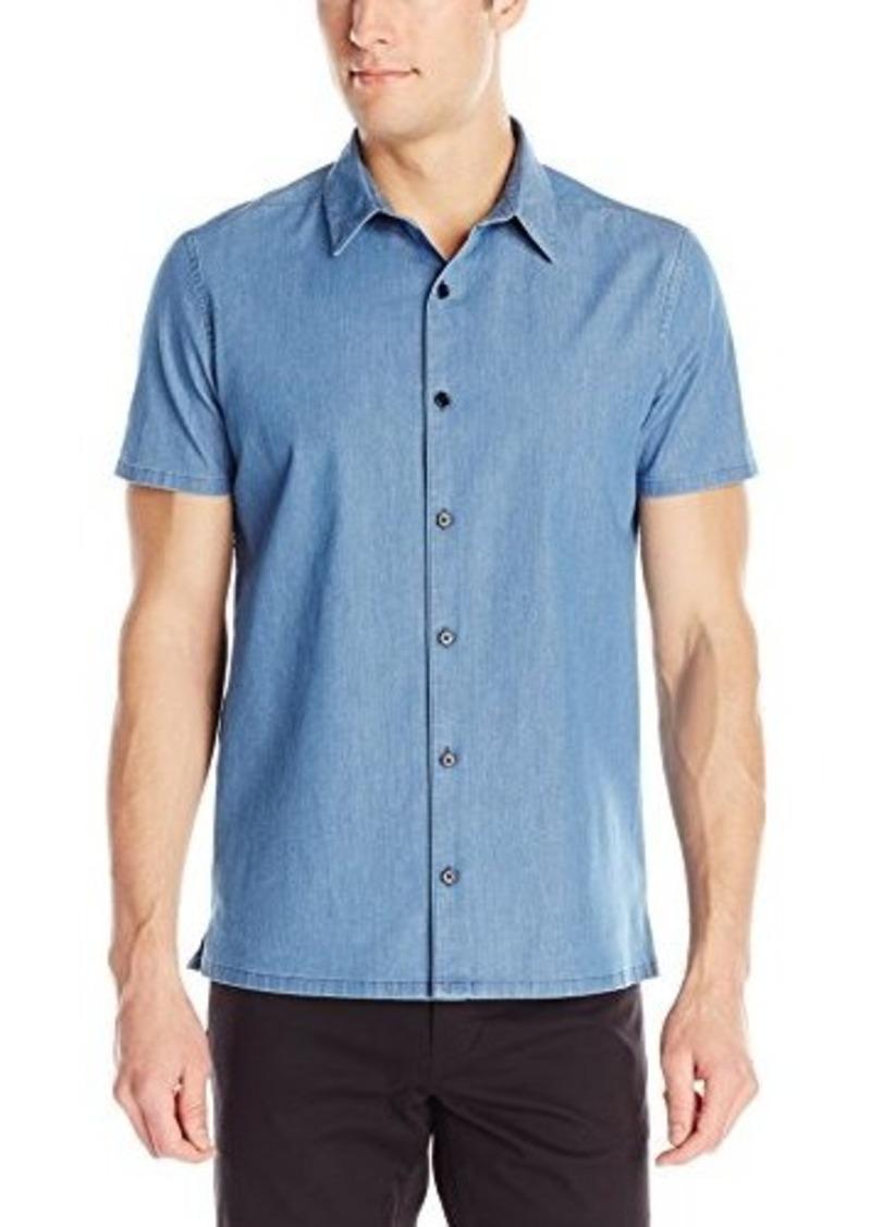 Theory Theory Men 39 S Custa Ashburton Woven Shirt Casual