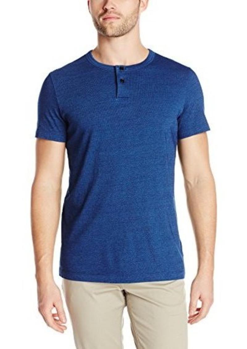 Theory Theory Men 39 S Gaskell H Denim Jersey Henley Shirt