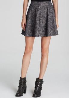 Theory Merlock Donegal Tweed Skirt - Bloomingdale's Exclusive