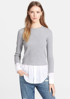 Theory 'Mikaela' Layered Thermal Top
