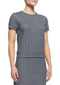 Theory Ovar Tilma B Short-Sleeve Top