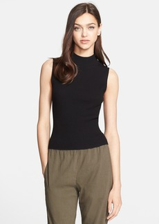 Theory 'Prosecco' Sleeveless Ribbed Stretch Knit Top