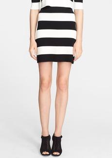 Theory 'Prosecco' Stripe Stretch Knit Skirt