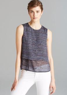 Theory Shirt - Hodal Multi Tweed