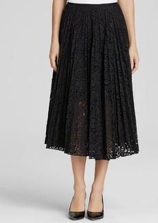 Theory Skirt - Zeyn Pleated Veneza Lace