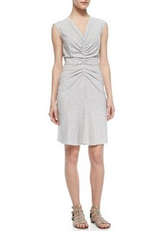 Theory Stellyn Sleeveless Ruched-Center Dress