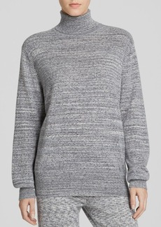 Theory Sweater - Pristelle Heathered Cashmere Turtleneck