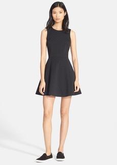 Theory 'Tillora' Jacquard Fit & Flare Dress