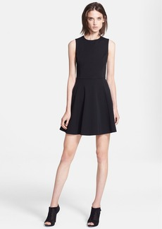 Theory 'Tillora' Techno Jersey Fit & Flare Dress