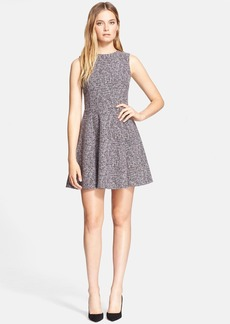 Theory 'Tillora' Tweed Fit & Flare Dress