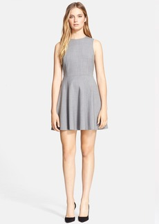 Theory 'Tillora' Wool Blend Fit & Flare Dress