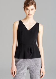 Theory Top - Maggie Double Georgette