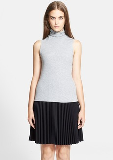 Theory 'Wendel' Ribbed Blouse