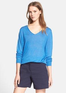 Theory 'Wynn A' Linen Blend Sweater