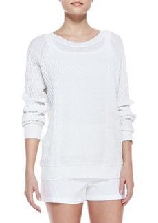 Theory Yaif Kalli Pullover Sweater