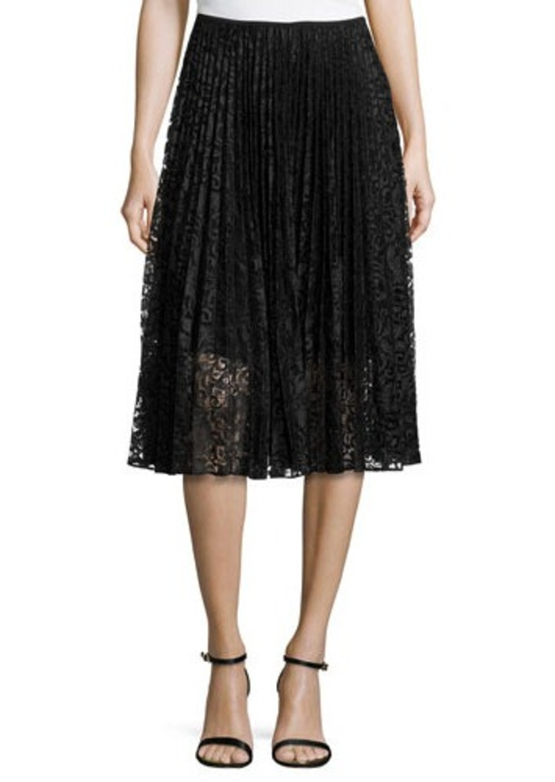 theory theory zeyn pleated lace skirt skirts shop it to me