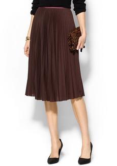 Theory Zeyn Pleated Skirt
