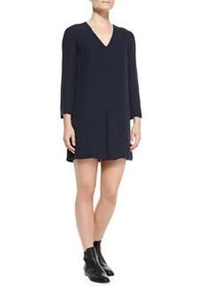 Trenta Double-Georgette Long-Sleeve Dress   Trenta Double-Georgette Long-Sleeve Dress