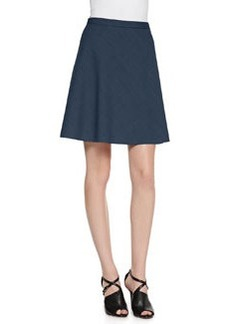 Zulle A-Line Suiting Skirt   Zulle A-Line Suiting Skirt